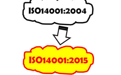 Transition from ISO14001:2004 to ISO14001:2015