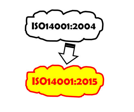 Making the transition to the new ISO14001:5015 standard