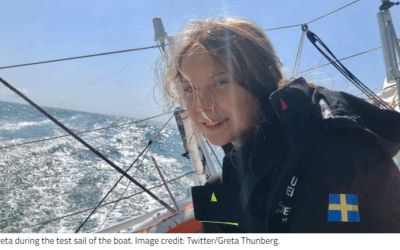 Climate Action, Greta Thunberg and a Boat Trip